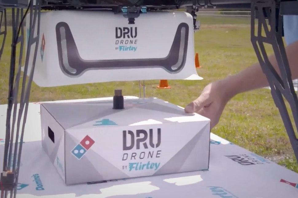 DRU dron entrega domicilio