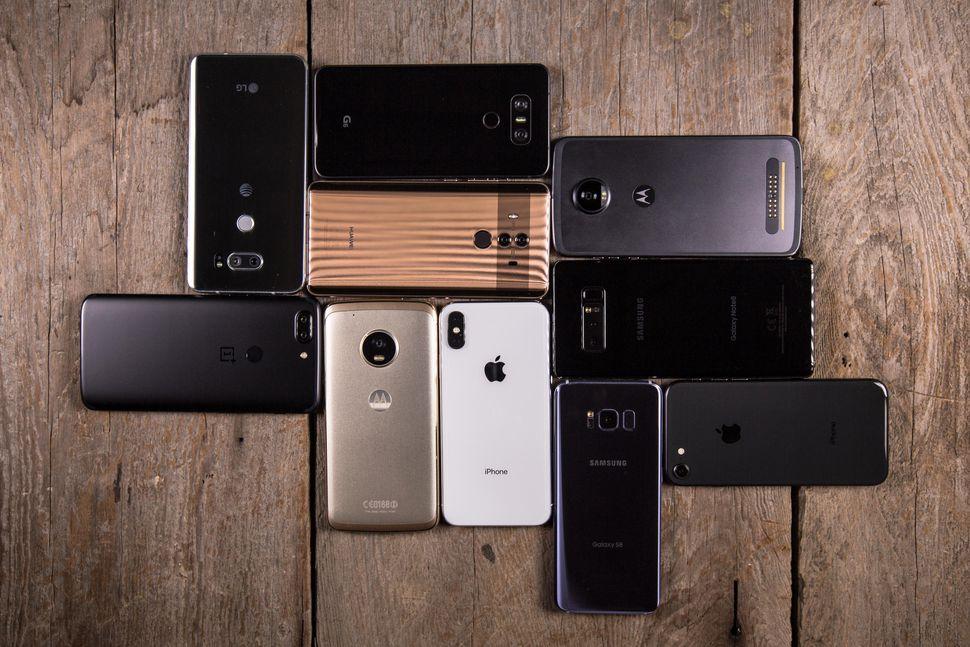evolución smartphones