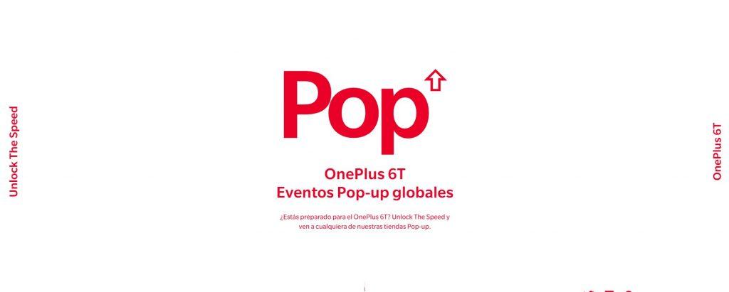 OnePlus abrirá Pop Ups en españa