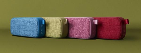Los altavoces con más estilo de Energy Sistem son los Energy Fabric Box