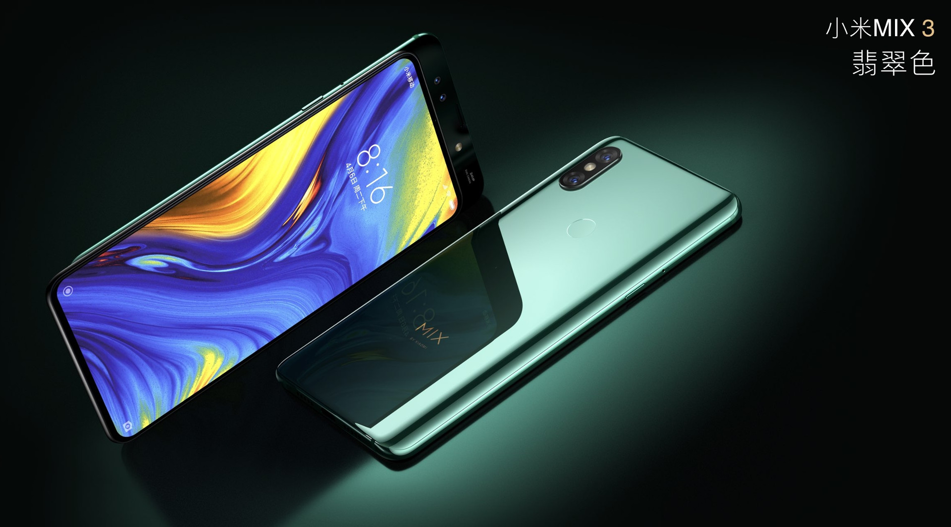 Xiaomi Mi Mix 3 presentación