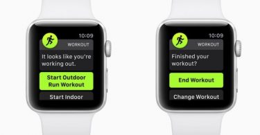Apple Watch recuperacion