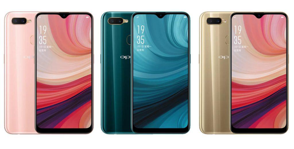 OPPO A7 pantalla