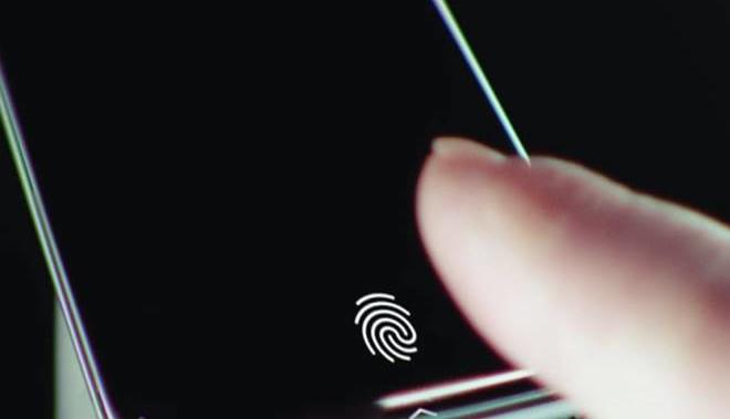 lector huellas bajo pantalla Samsung