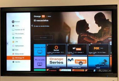 Orange TV control voz