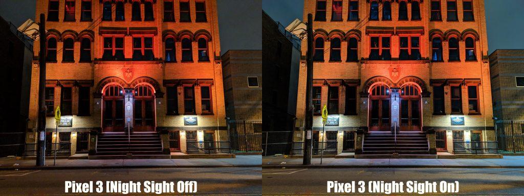 Modo Noche Google Pixel 3