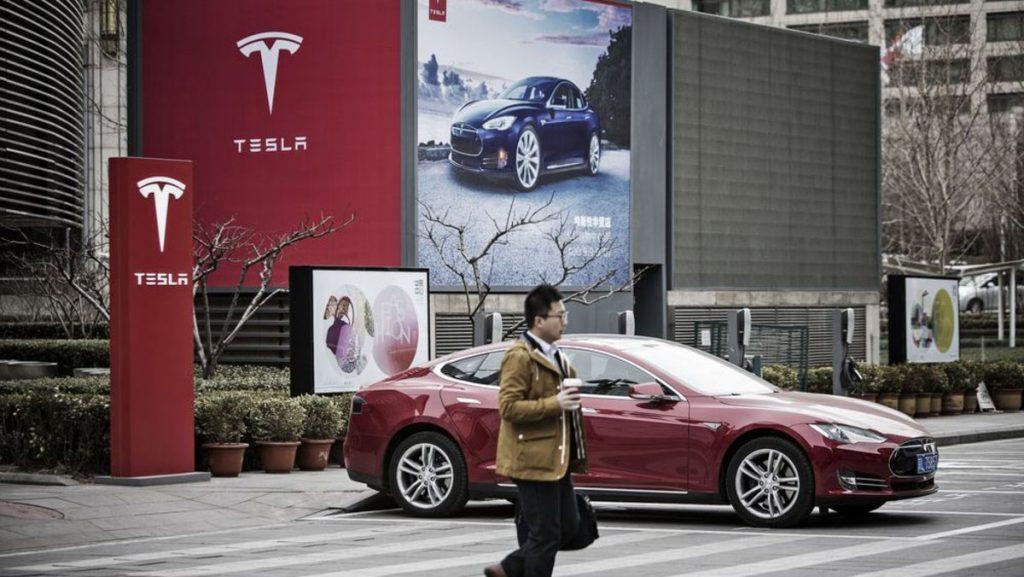 Tesla ventas china