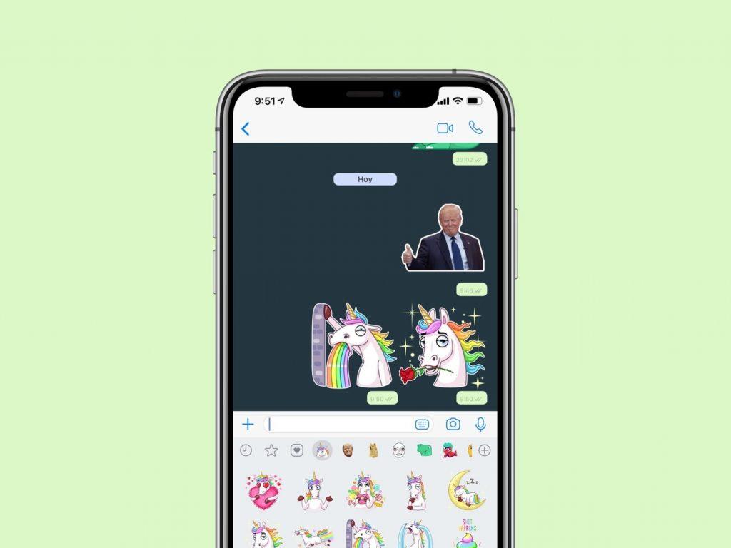 stickers iOS