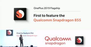 OnePlus Snapdragon 855