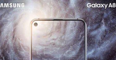 Galaxy A8s presentación