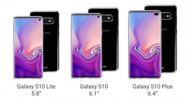 Galaxy S10 filtrado