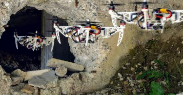 Dron plegable rescate