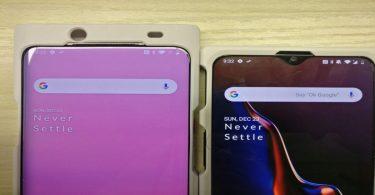 Primera imagen del OnePlus 7