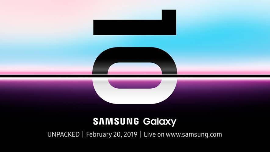Presentación Samsung Galaxy S10