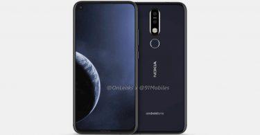 Nokia pantalla agujereada